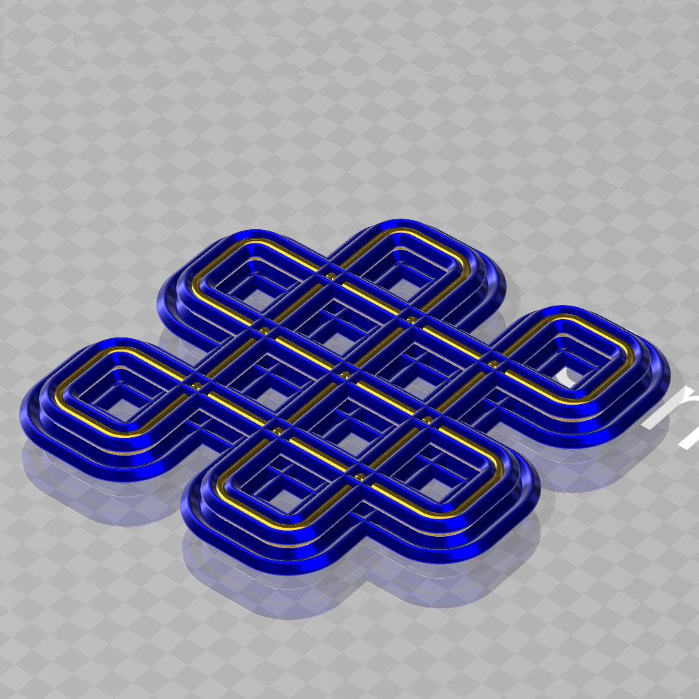 infiniteknot1.jpg Télécharger fichier 3MF symbole du nœud infini • Modèle pour impression 3D, syzguru11
