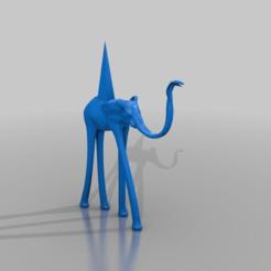 e278a0a1c00f06368f85ef76058b0184.png Télécharger fichier STL gratuit éléphant - salvador dali style • Modèle à imprimer en 3D, syzguru11