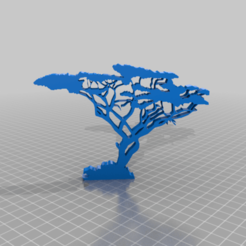 Download free 3D printing files african tree, syzguru11