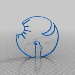 Download free 3D printing files la linea sun and moon, syzguru11