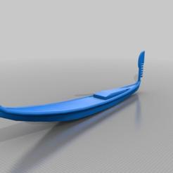 Télécharger plan imprimante 3D gatuit gondole vénitienne, syzguru11