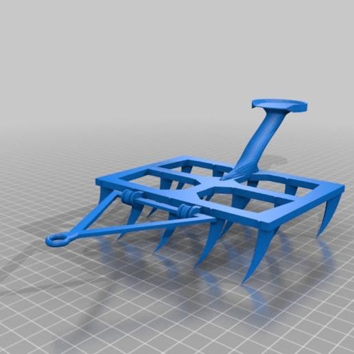 Imprimir en 3D gratis arado / pflug, syzguru11
