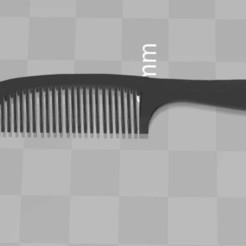 Descargar modelos 3D gratis peine Kamm más dientes - rediseñado para el uso erecto, syzguru11
