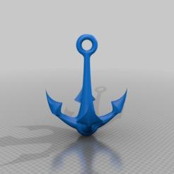Descargar archivo 3D gratis Ancla / llavero anker / decoración, syzguru11
