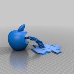 Descargar modelos 3D gratis la manzana que vomita, syzguru11