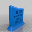 b82eb7945b4aed32f50e4967ff610081.png Download free STL file gravestone concept - retourning the favour • 3D print model, syzguru11