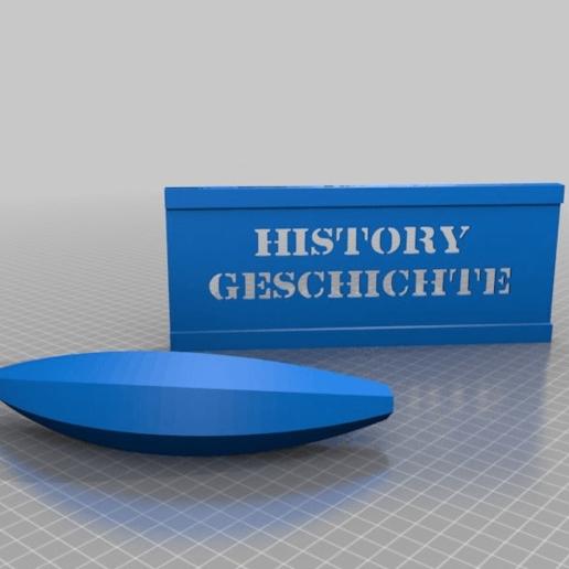 Download free STL file history writing aid with banana • 3D printer model, syzguru11