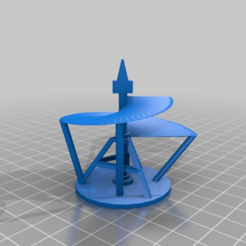 Télécharger fichier STL gratuit détail d'un dessin pour une machine volante Léonard de Vinci, syzguru11