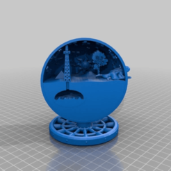 Download free 3D printer files EARTH MOON STARS -  urbi at orbi, syzguru11