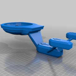 Download free 3D printing designs Keyser Sozes. live long and prosper    toilet coffin spaceship, syzguru11