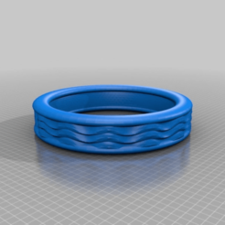 Download free 3D printing files WAVES RING -  FIFTH ELEMENT, syzguru11