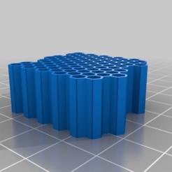 Impresiones 3D gratis nista o no nista, esa es la cuestión (porta-lápices hexasurfico pal pal)), syzguru11