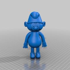 Télécharger objet 3D gratuit schtroumpf schlumpf lisse, syzguru11