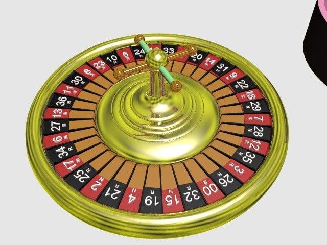 roulette1.png Download free STL file roulette grinder - spin the wheel - rien ne va plus - grind the herbs • 3D printable model, syzguru11