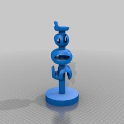 Download free 3D printer templates the 50s Desktop stand, syzguru11