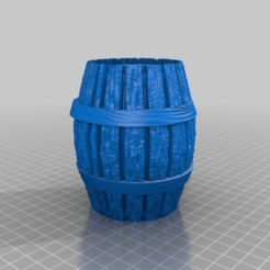 Download free STL file barrel / fass • 3D printing template, syzguru11
