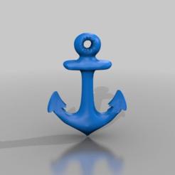 Télécharger fichier imprimante 3D gratuit ancre, syzguru11