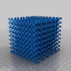 Descargar diseños 3D gratis estructura cristalina de intersección hexagonal, syzguru11