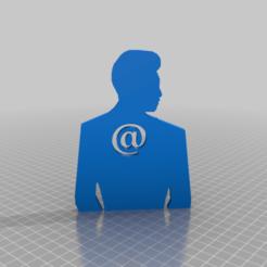 Download free 3D printer files @ behind your back, syzguru11