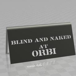 venivici.jpg Download free STL file veni vidi vici - blind and naked at orbi-  desktop stand • 3D print object, syzguru11