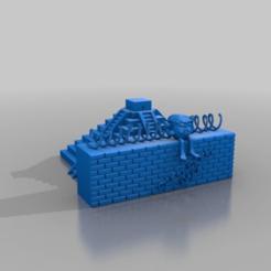 Télécharger modèle 3D gratuit L'atout humble assis sur la grande muraille, syzguru11