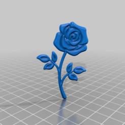 roseev.png Télécharger fichier STL gratuit rose • Plan pour imprimante 3D, syzguru11