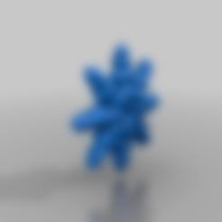 Télécharger fichier STL gratuit flocon de neige gothique • Plan pour impression 3D, syzguru11