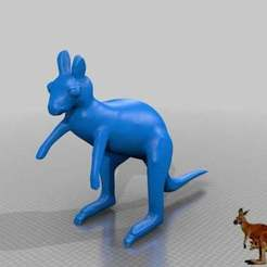 Télécharger fichier STL gratuit kaenguru smooth • Objet pour impression 3D, syzguru11