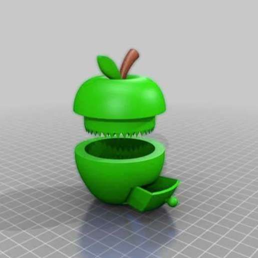 Download free STL file flawless apple grinder with box, syzguru11