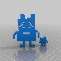 Télécharger fichier STL gratuit moonpeople Aqua Teen Hunger Force • Plan imprimable en 3D, syzguru11