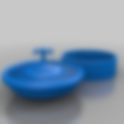 roulette-grinderfix.stl Download free STL file roulette grinder - spin the wheel - rien ne va plus - grind the herbs • 3D printable model, syzguru11