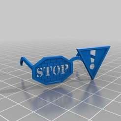 Télécharger modèle 3D gratuit verres pour panneaux de signalisation, syzguru11