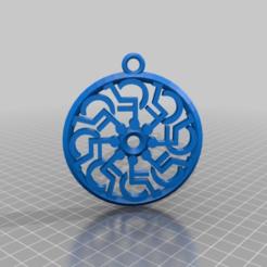 Download free 3D printer files wheelchair sunwheel - immobilisation pendant walking on glass etc. etc, syzguru11
