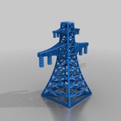 Télécharger STL gratuit pylône haute tension, syzguru11