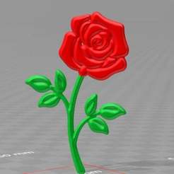 Download free STL file rose V2  more stable version - no supports, syzguru11