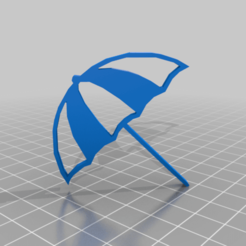 Télécharger modèle 3D gratuit parapluie, syzguru11
