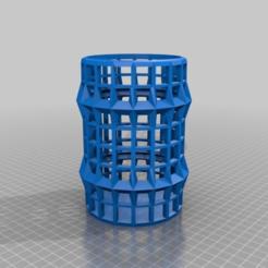 Download free 3D printer designs barrel plain, small ez print, syzguru11