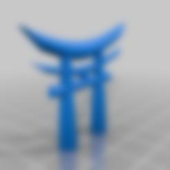 Download free 3D printing models Japan shinto gate, syzguru11