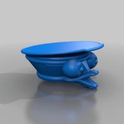 Download free 3D printer templates schnabel hut mit augen / hat with eyes, syzguru11