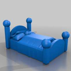 b5e8e56a26ce30a7ec06dc18340bd64d.png Download free STL file bed • Object to 3D print, syzguru11