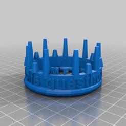 Descargar archivo 3D gratis corona de la casa de huéspedes de césar rudolfs, syzguru11