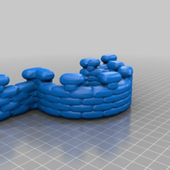 Télécharger fichier impression 3D gratuit terrain de tir en sac de sable, syzguru11