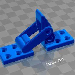 latch1.jpg Download free STL file Latch+toggle+lock+samesize ..4 single pieces • 3D printable design, syzguru11