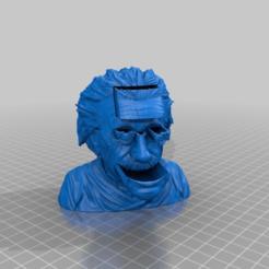 Descargar archivos 3D gratis Albert Einstein BUST BOX Container, syzguru11