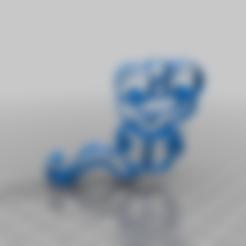 snake4v.stl Télécharger fichier STL gratuit serpent mignon • Plan pour imprimante 3D, syzguru11