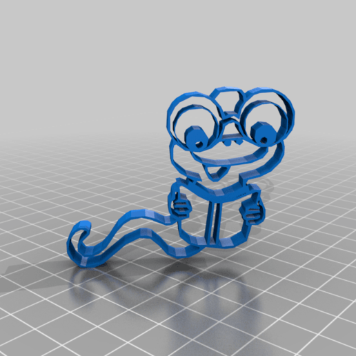 snake4v.png Télécharger fichier STL gratuit serpent mignon • Plan pour imprimante 3D, syzguru11