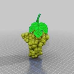 Descargar modelo 3D gratis uva de vino toscana, syzguru11