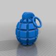 Descargar modelos 3D gratis granada de mano, syzguru11
