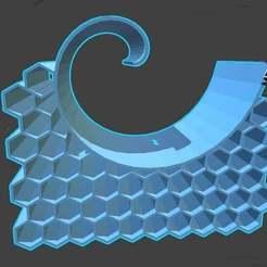 Download free 3D printing files Debian Style Desktop thing / Spiral honeycomb, syzguru11