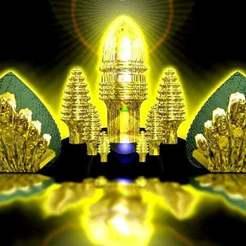 Télécharger STL gratuit Angkor Vat comme bâtiment, syzguru11